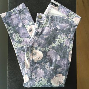 TALLY WEiJL Lilac Floral Pants